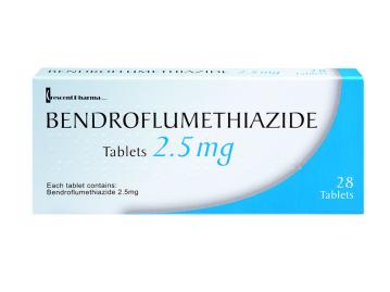 28 pack of bendroflumethazide 2.5mg tablets