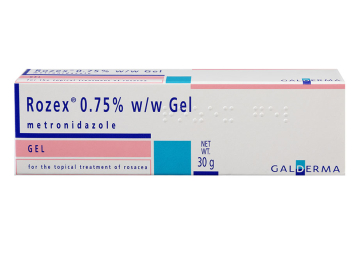 Pack of 1 30g Rosex 0.75% w/w metronidazole topical gel
