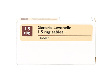 Pack of 1 1.5mg Generic Levonelle tablet