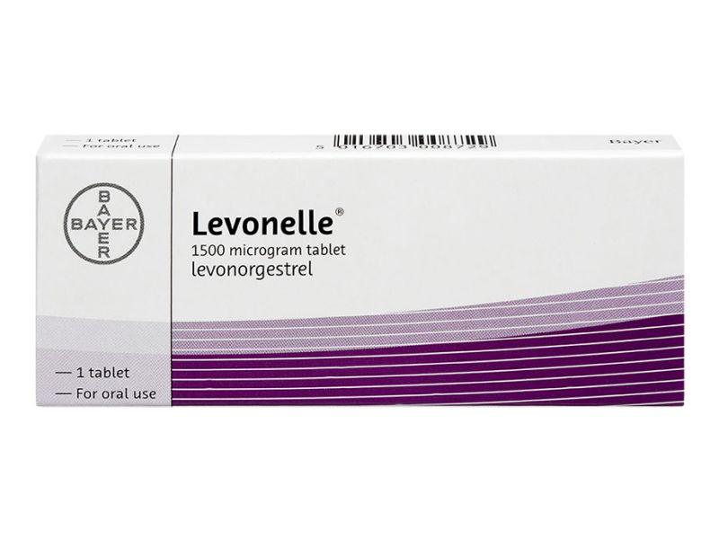 Pack of 1 Levonelle 1500µg levonorgestrel oral tablet