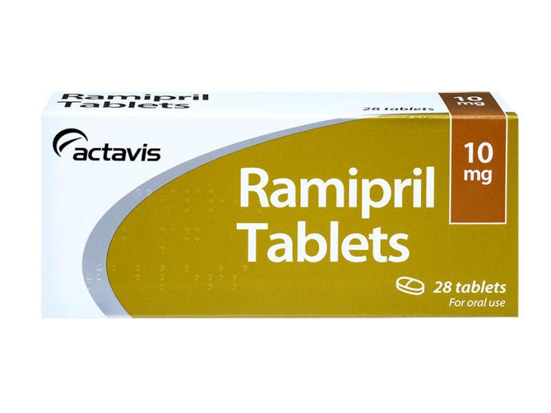 28 pack of 10mg ramipril oral tablets