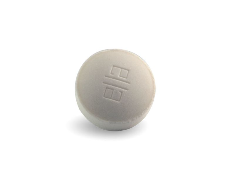Close up of white EllaOne tablet