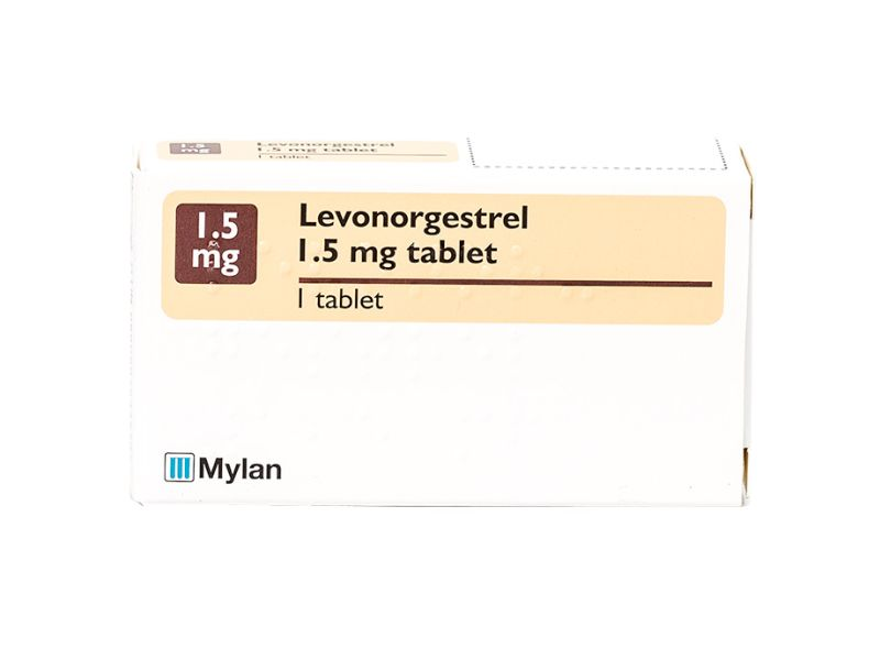 Pack of 1 1.5mg levonorgestrel tablet