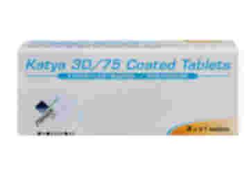 Pack of 63 Katya 30/75 ethniylestradiol/gestodene coated tablets