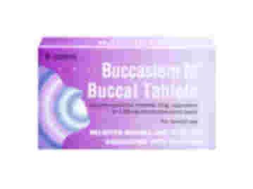 Pack of 8 Buccastem M prochlorperazine maleate 3mg 1.85mg prochlorperazine base equivalent buccal tablets