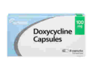 8 pack of 100mg doxycycline oral capsules