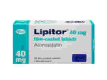 Calendar pack of 28 Lipitor 40mg atorvastatin film-coated tablets