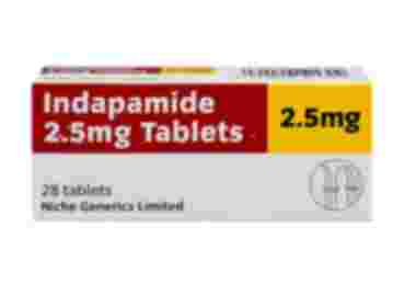 28 pack of indapamide 2.5mg tablets