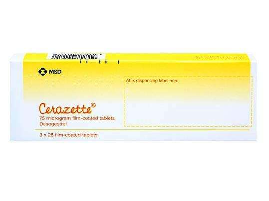 Cerazette Contraceptive Pill Zava