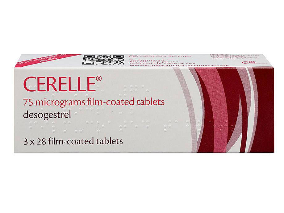 Cerelle Contraceptive Pill Zava