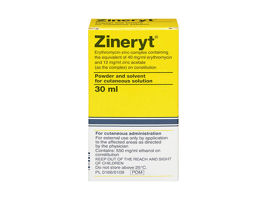 Buy Zineryt Online - 4% Erythromycin With Zinc