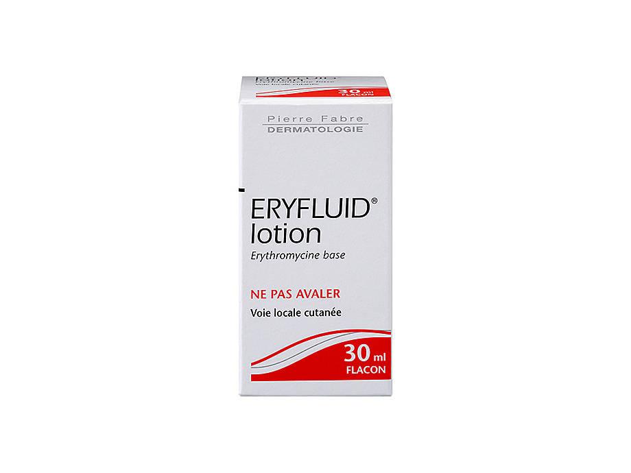 Eryfluid® 30 ml et 100 ml - Traitement antibiotique contre l acné   Zava 31f664188ec5