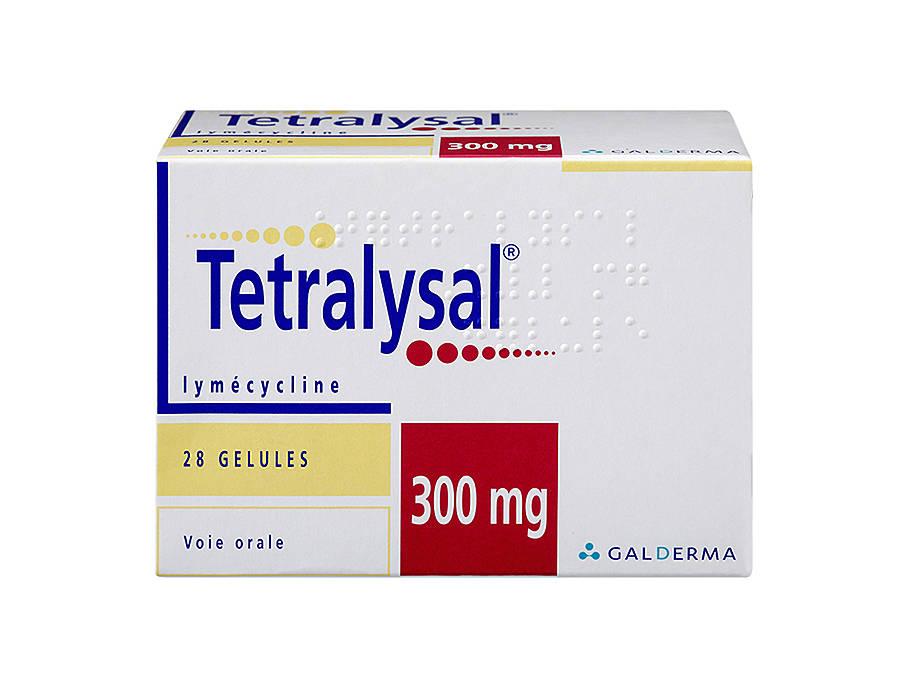 Tetralysal® 300 mg - Traitement antibiotique contre l acné   Zava 2248b263e955