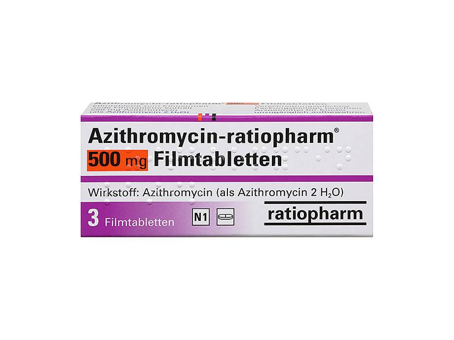 Erfahrungsberichte zu Azithromycin STADA 500mg Filmtabletten, 3 ST