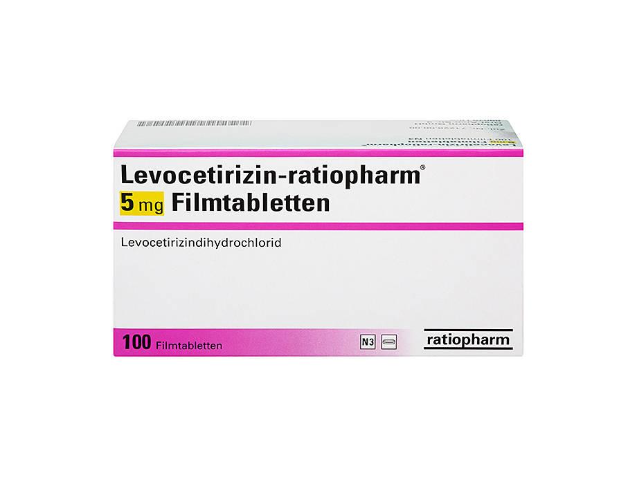 Erfahrungen levocetirizin Levocetirizin AL