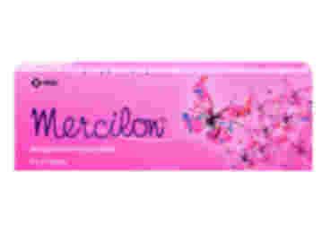 Pack of 63 Mercilon 150/20µg desogestrel/ethinylestradiol tablets