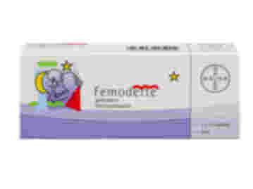 63 pack of Femodette gestodene and ethinyestradiol oral tablets