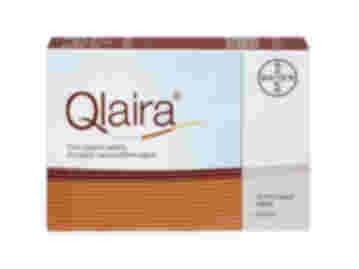 Pack of 28 Qlaira estradiol valerate/dienogest film-coated oral tablets