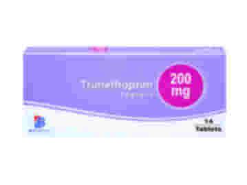 Pack of 14 200mg trimethoprim tablets