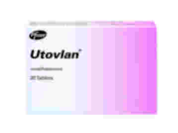 Pack of 30 Utovlan norethisterone tablets