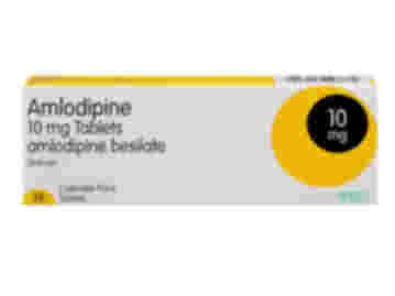 28 pack of 10mg amlodipine besilate oral tablets