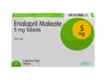 28 pack of 5mg enalapril maleate oral tablets