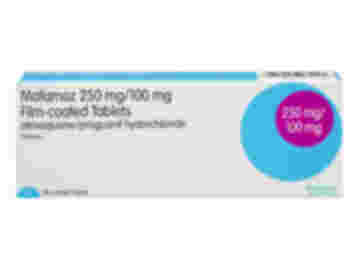Pack of 12 Mafamoz 250mg atovaquone 100mg proguanil hydrochloride film-coated tablets