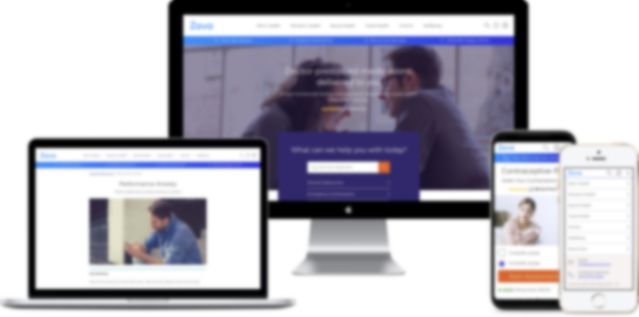 the new zava website