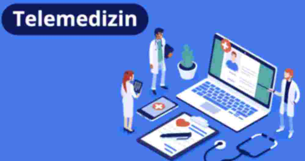 Telemedizin, Ärzte, Laptop, Handy