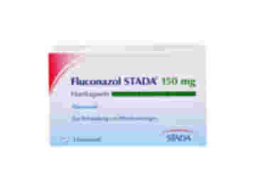 Vorderseite einer Packung Fluconazol STADA 150 mg Hartkapseln