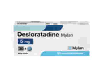 Desloratadine 5 mg comprimés