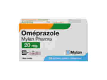 Omeprazole 20 mg comprimés