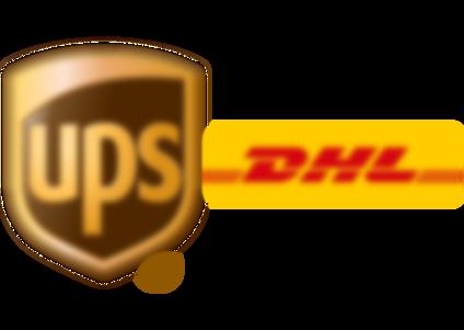 Expressversand mit DHL Express oder UPS