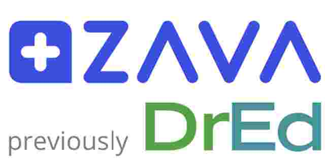 DrEd logo and ZAVA logo