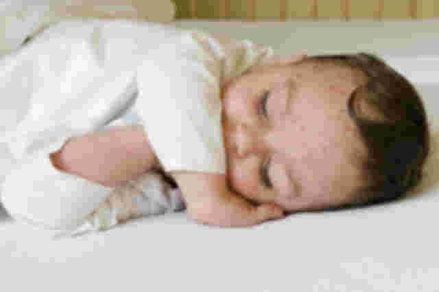 Baby mit Windpocken