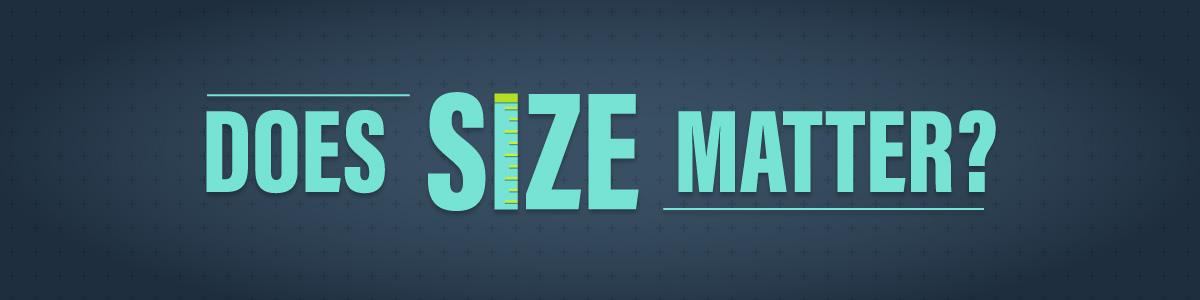 penis size doesnt matter