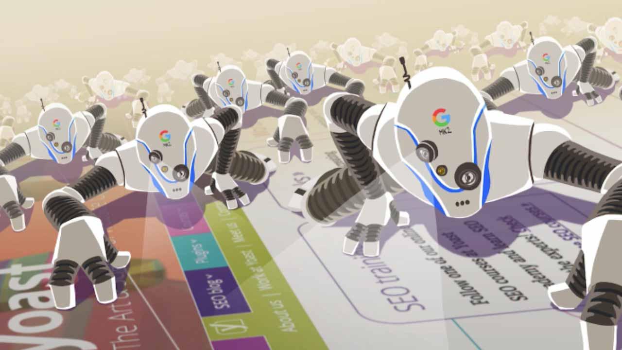 Google crawlers on Yoast website