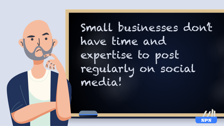 Small businesses don't have time to post the latest news
