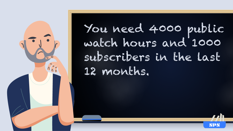 YouTube Partner Program requirements