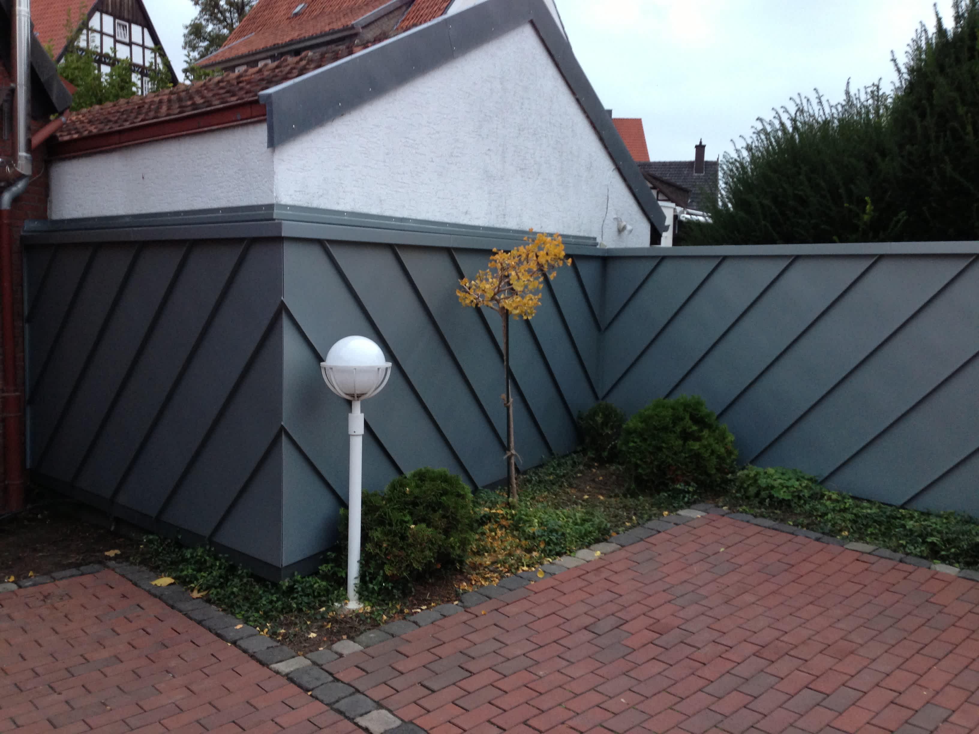 Klempnererarbeiten am Dach