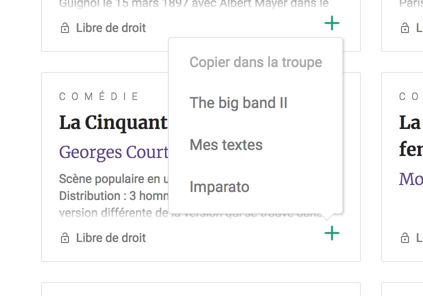 Copier un texte du domaine public sur le web