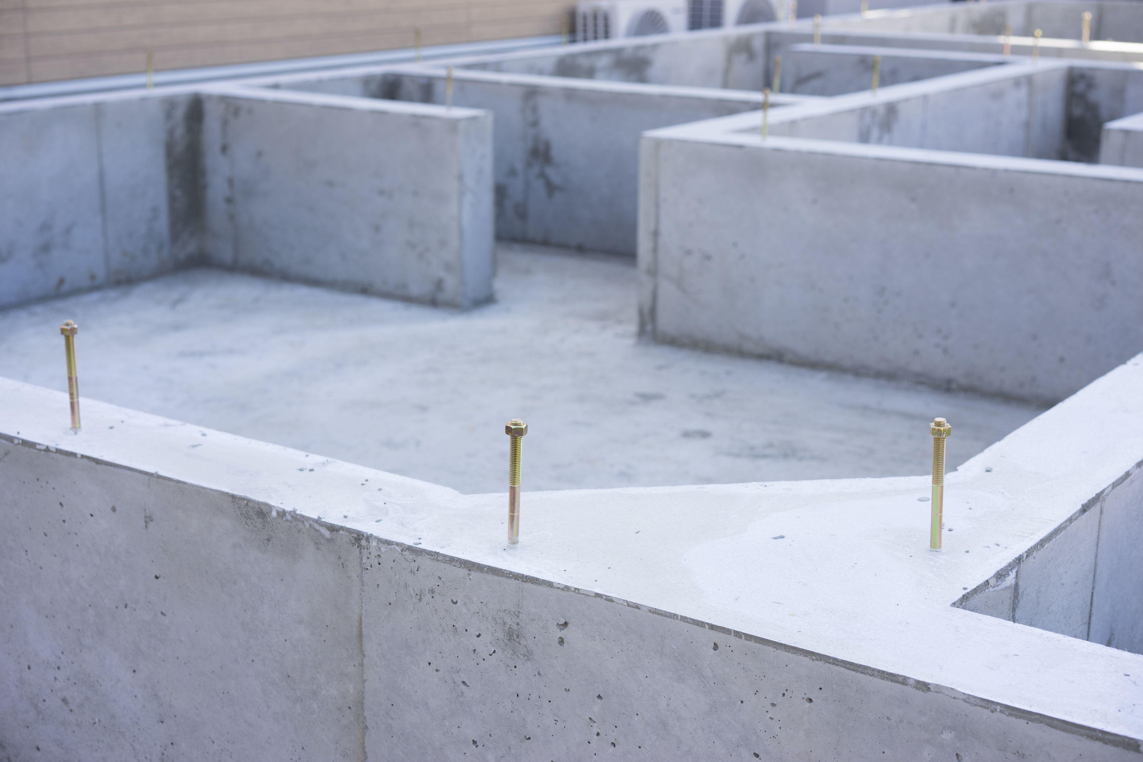 コンクリートの打設・補修工事