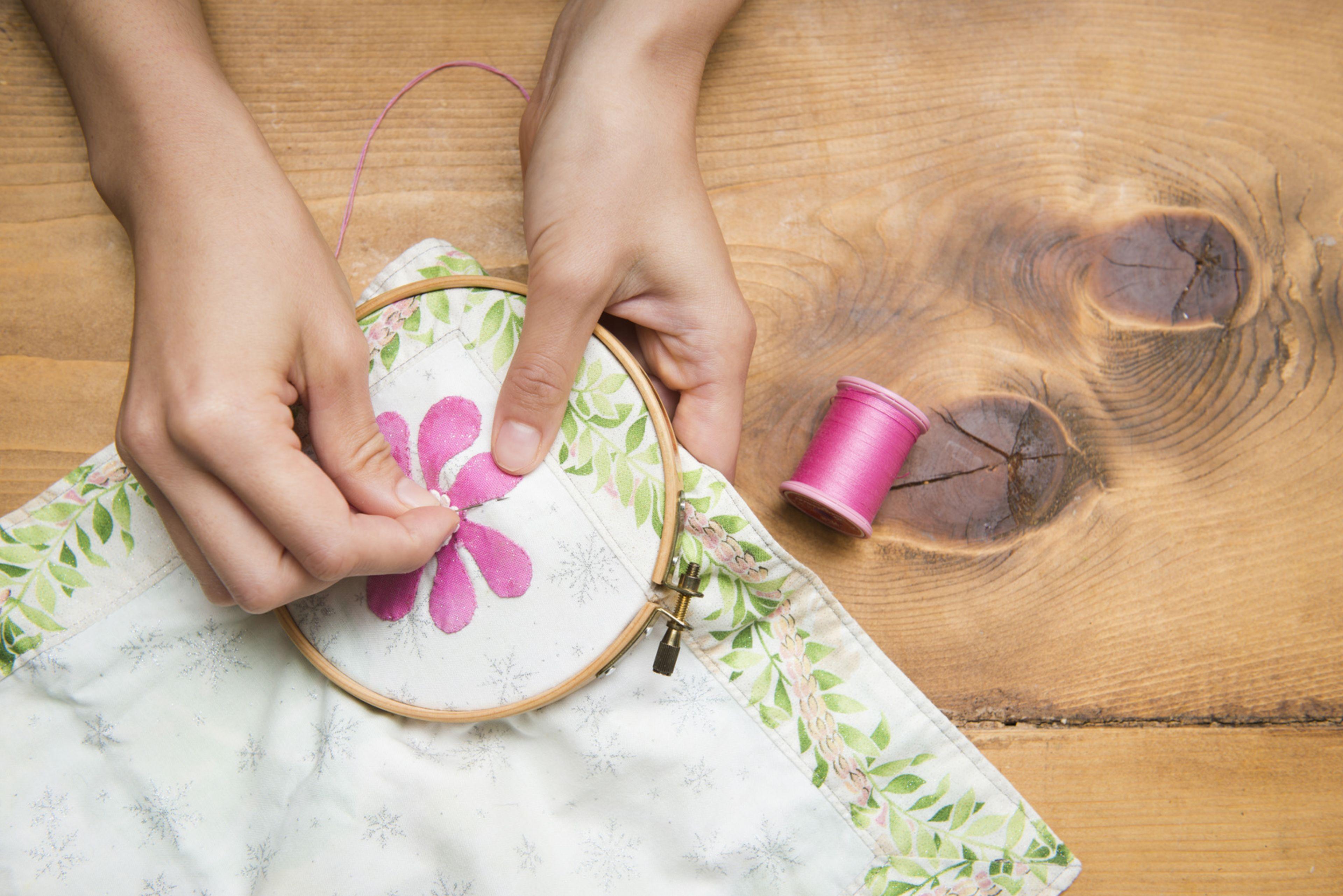 刺繍・刺しゅう・編み物・フェルトレッスン