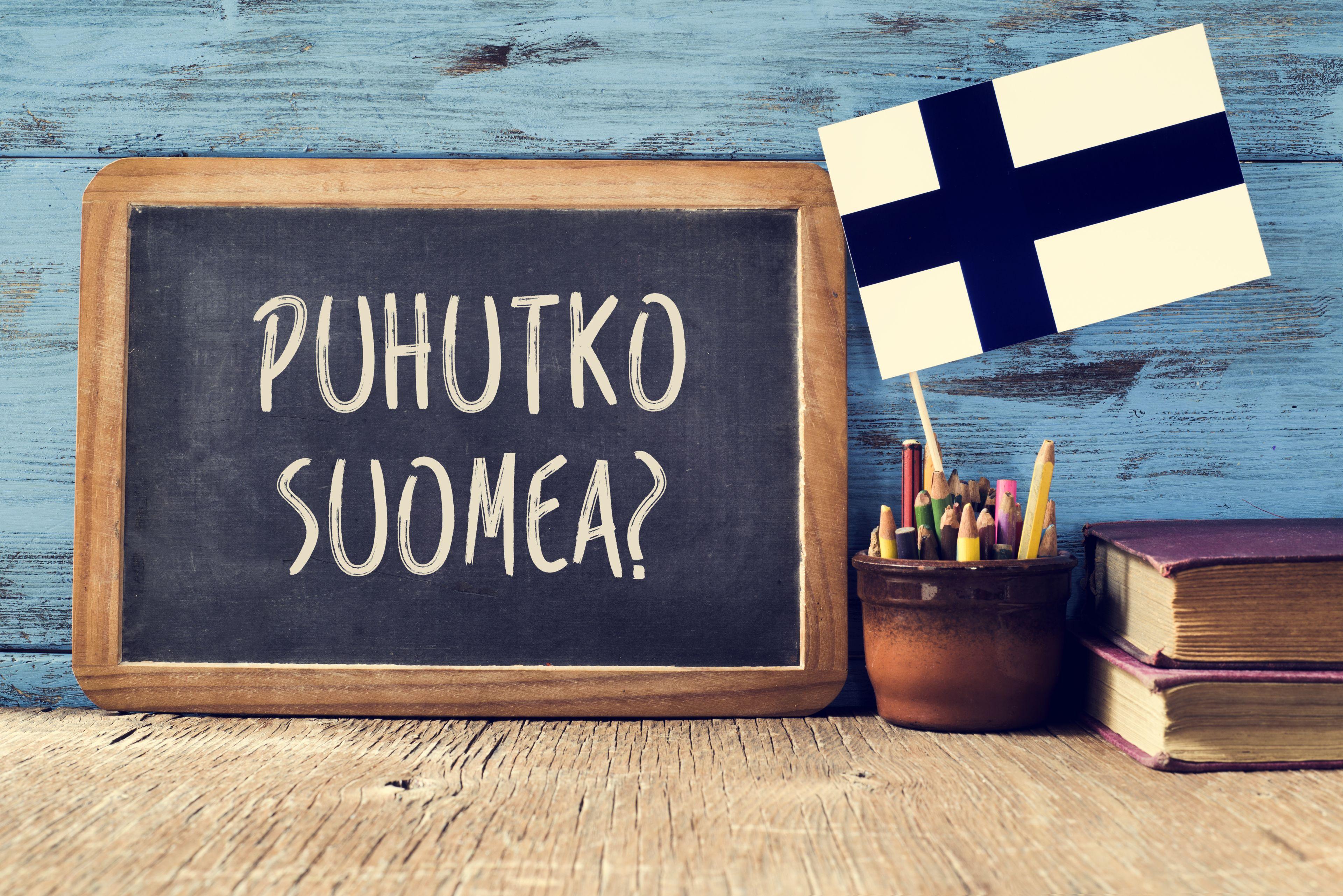 フィンランド語