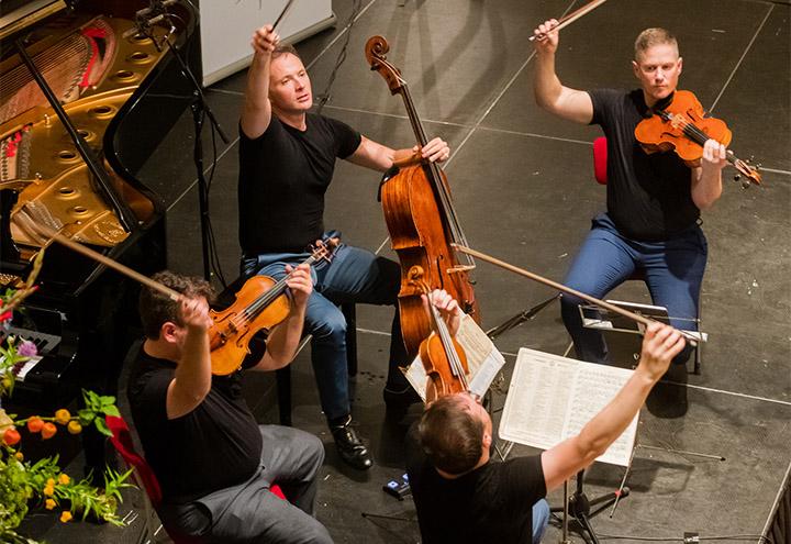 Jerusalem Quartet | © Mel Boas