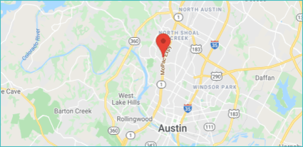 Map showing ZenBusiness office location
