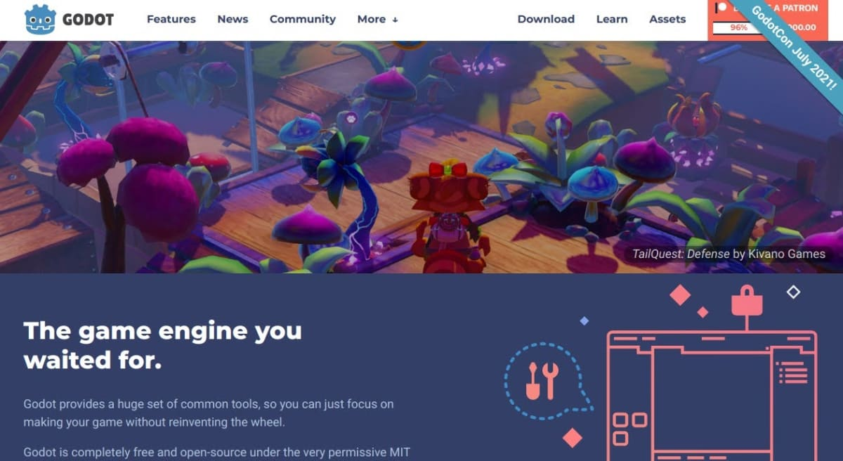 Godot Web site