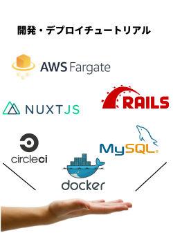 Nuxt.js + Ruby on Rails + AWS Fargate の開発・デプロイチュートリアル