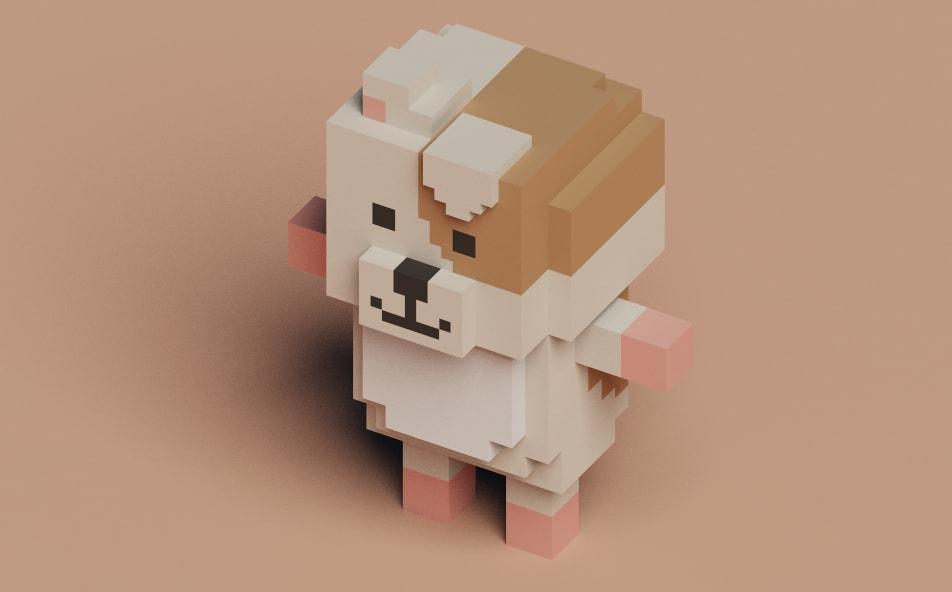voxel dog