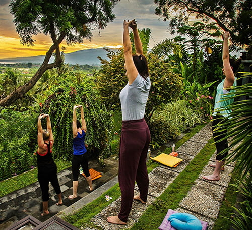 Yoga at Zen sanctuary